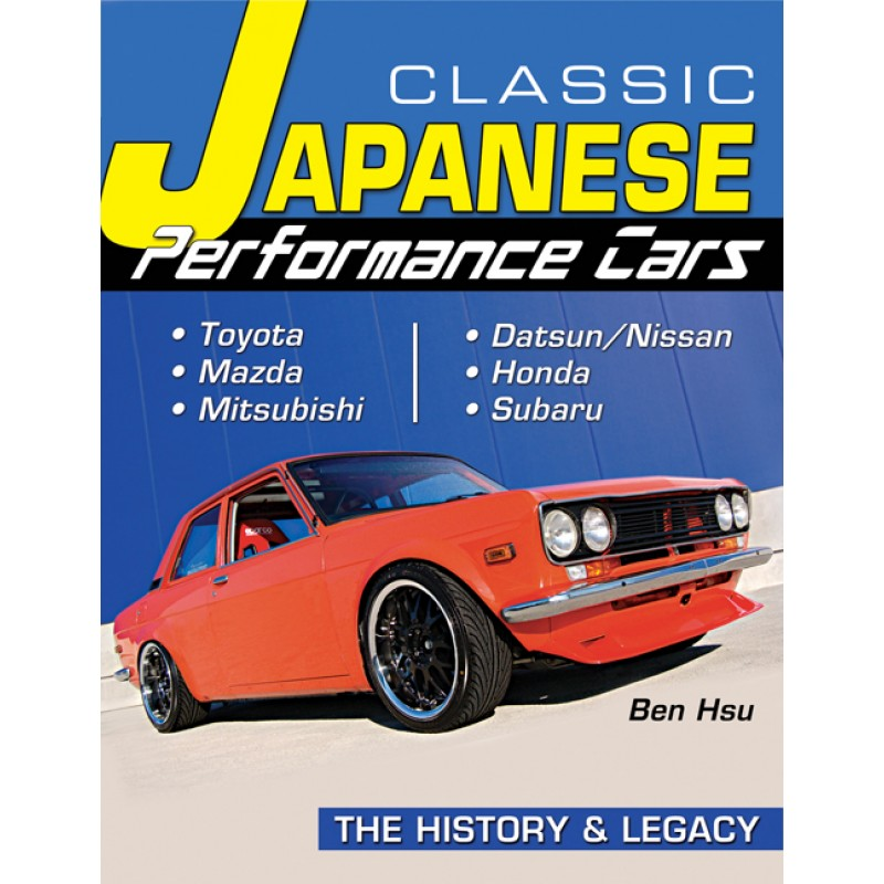 New Book Highlights Classic Japanese Performance Cars Speedville
