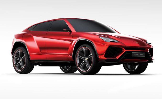 Lamborghini Announces New Off Road Performance Suv