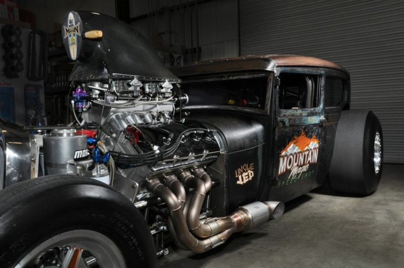 Ride Of The Week Uncle Jed Model A With 1 900 Hp Street