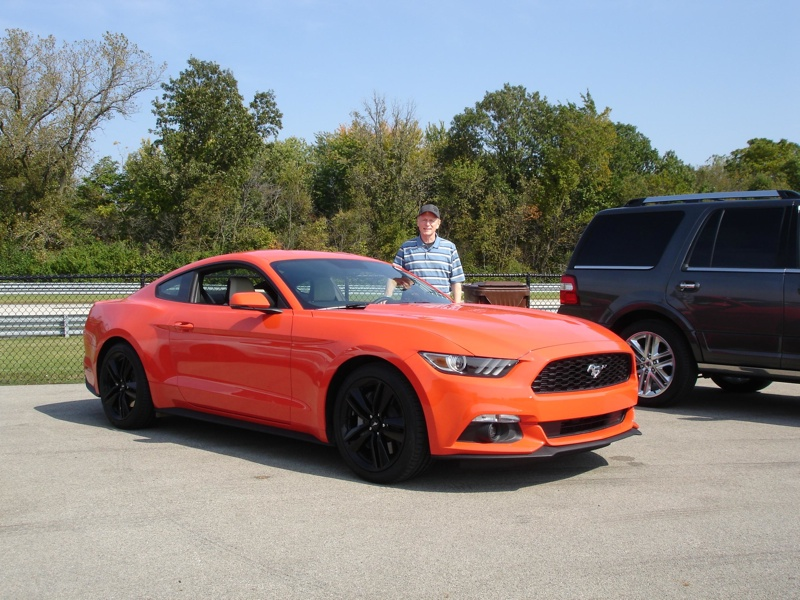 2015 Mustang Ecoboost Four Pulls Strong But is No V8 -