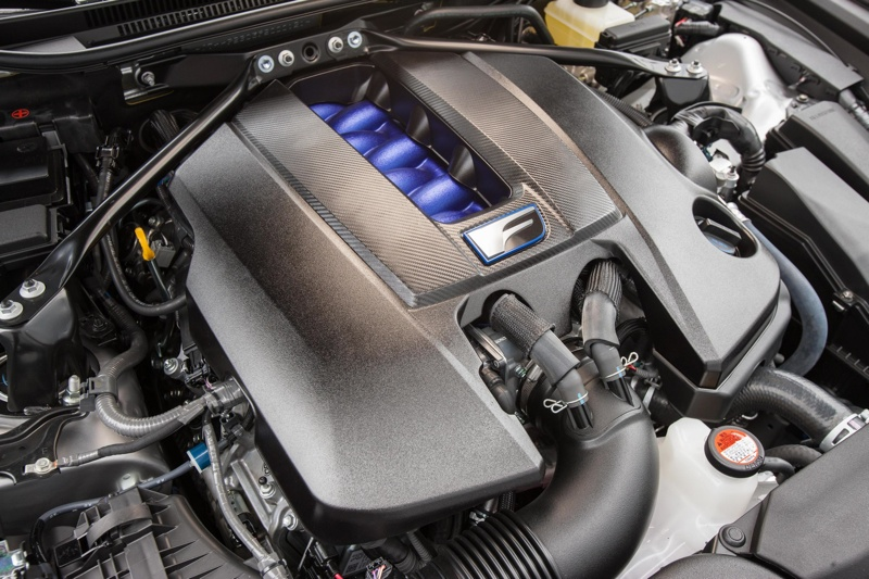 Under the Hood of the Lexus RC F -