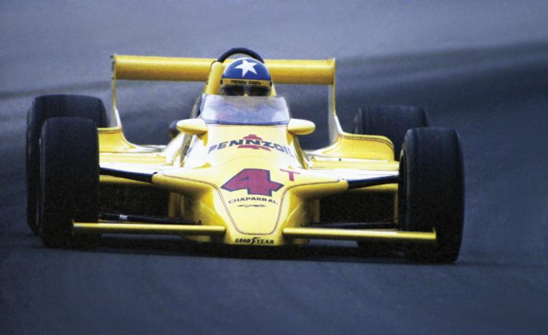 Nel 1980 Johnny Rutherford porta a casa il terzo successo personale al volante della Chaparral 2K