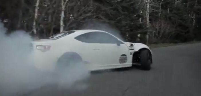 Video: Mountain Drifting In A Scion FR-S