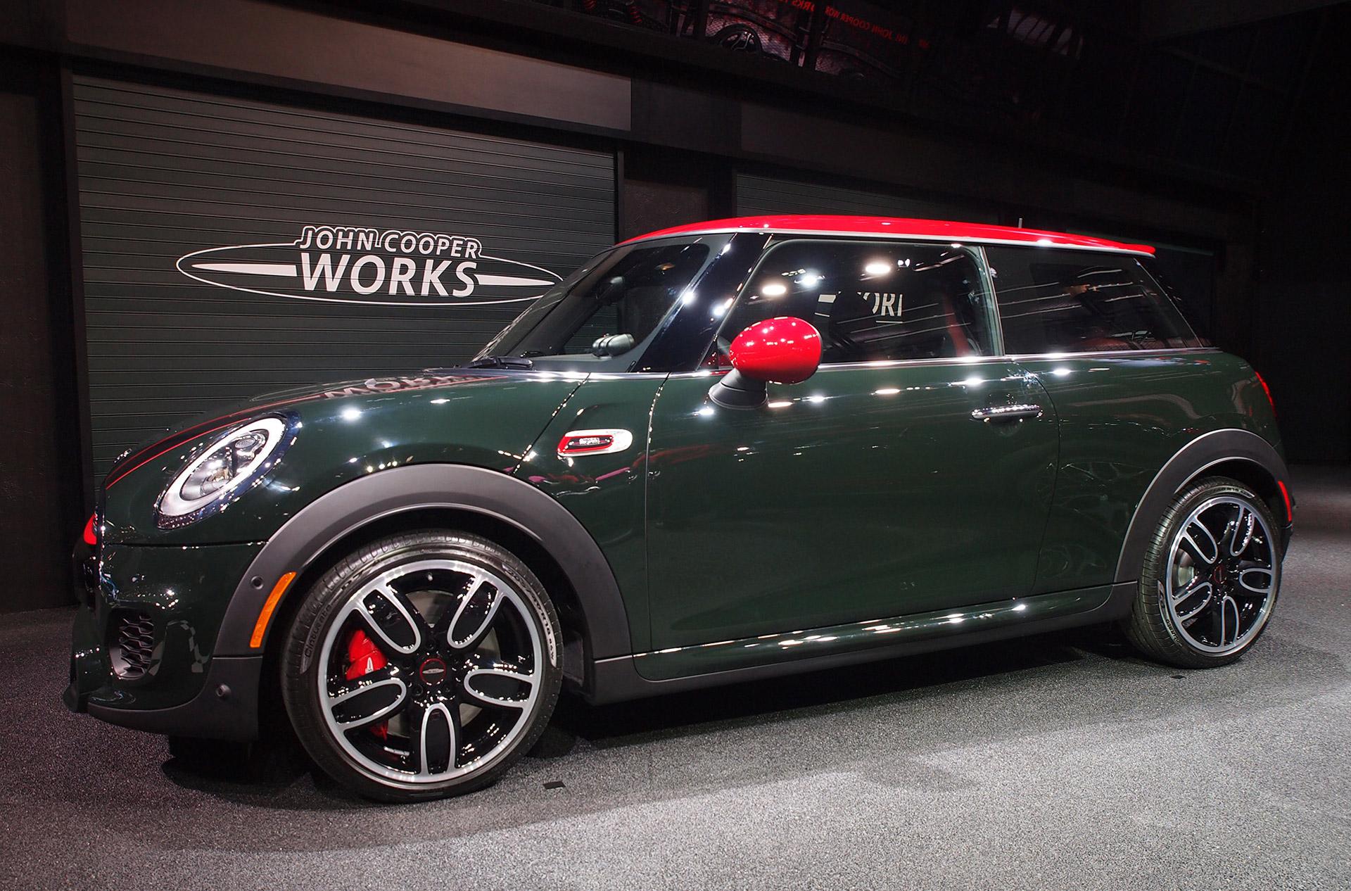 2015 MINI John Cooper Works Appears in Detroit -