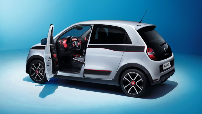 "The Twingo, Renault's city car, has a curb weight of 2,200 lbs. and comes avail;able with a 1.5 liter in-line four diesel or a 1.2 lite rin-line four gasoline engine. The Twingo has been named as a possible target vehicle for the ""Powerful."""