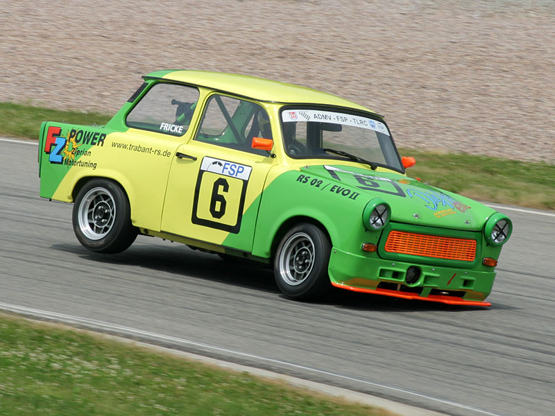 Blast From The Past Trabant 601 Goes Off Roading