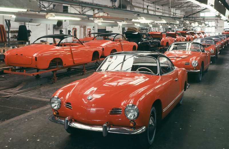 60th Anniversary Of Vw Karmann Ghia Celebrated