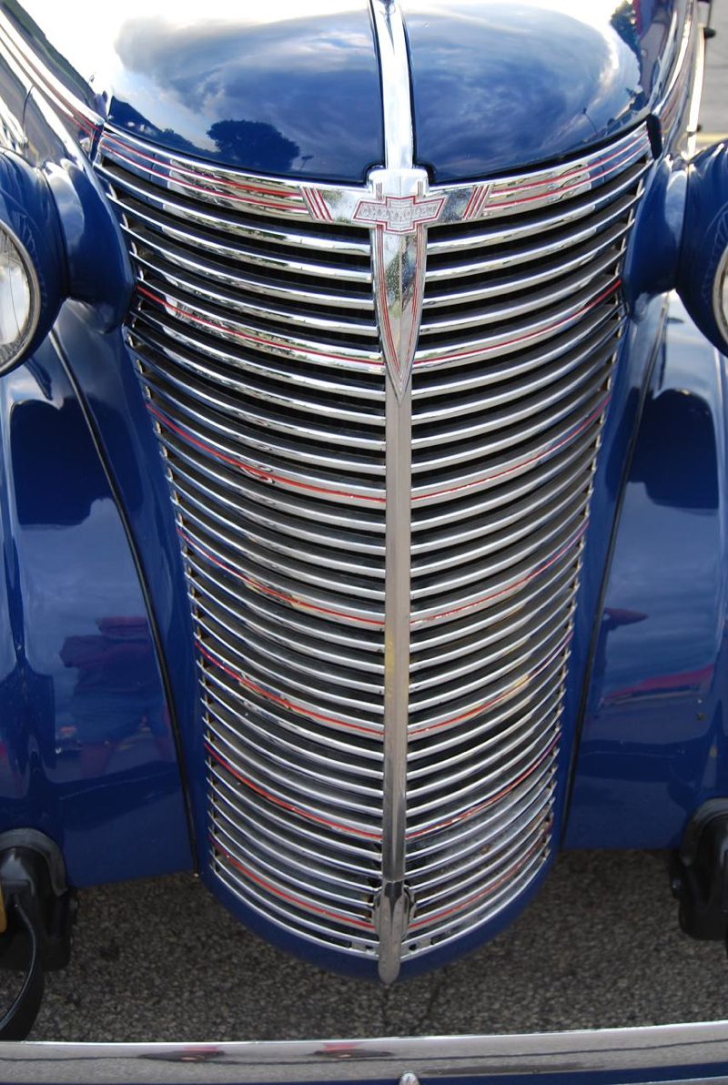 The '38 Chevy was similar to the '37, but the grille was redesigned.