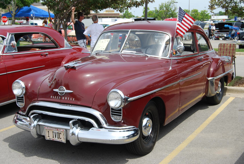 Some consider early Rocket 88s like this 1950 model the first factory hot rods.