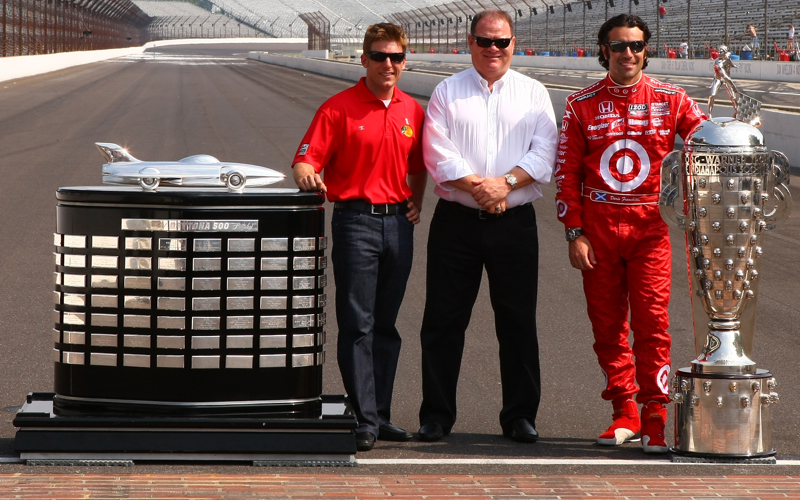Borg Warner trophy and Harley Earl trophy