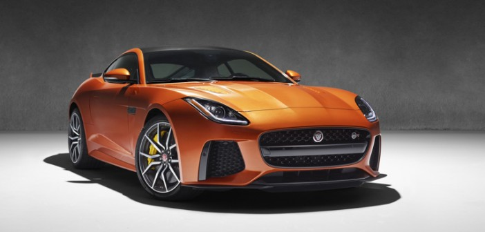 The New 200mph Jaguar F-Type SVR to Make Debut at Geneva