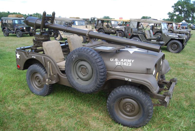 SV190 Korean War Willys Jeep