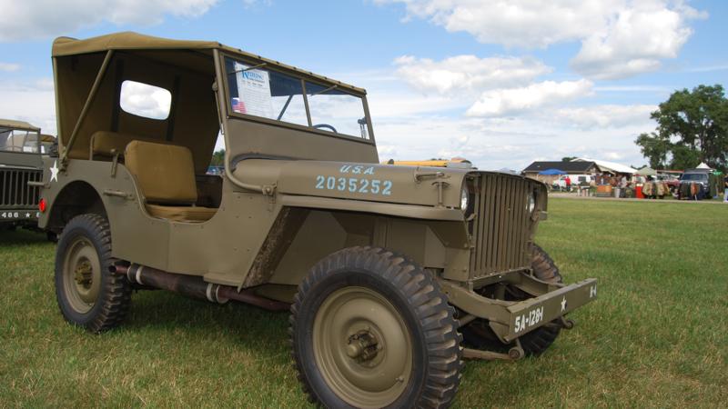 SV190 WWII Willys Jeep