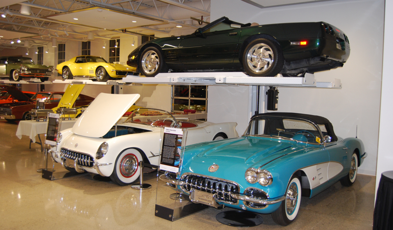 The car is on display at the Automobile Gallery in Wisconsin.
