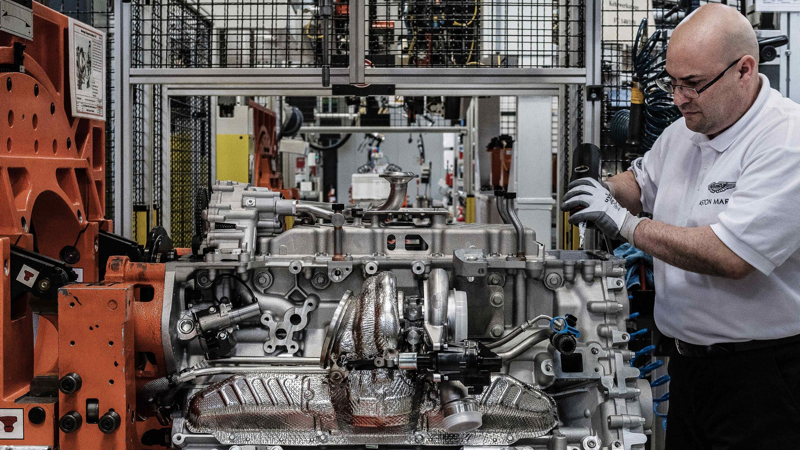 Aston Martin Koln Engine Plant Photo  (25)