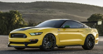 Ford's 'Ole Yeller' Mustang Inspired by P-51D Mustang Airplane to be Auctioned