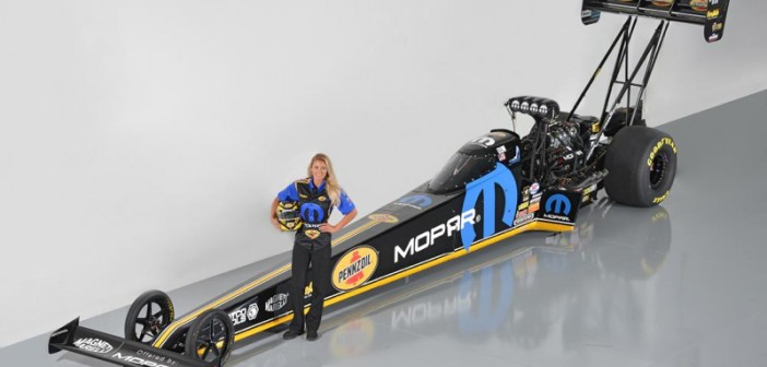 Mopar and Pennzoil Announce Sponsorship of Leah Pritchett-Piloted NHRA Top Fuel Dragster