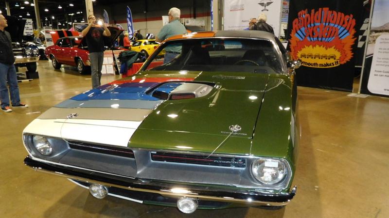 1970 Plymouth Color Code Cuda